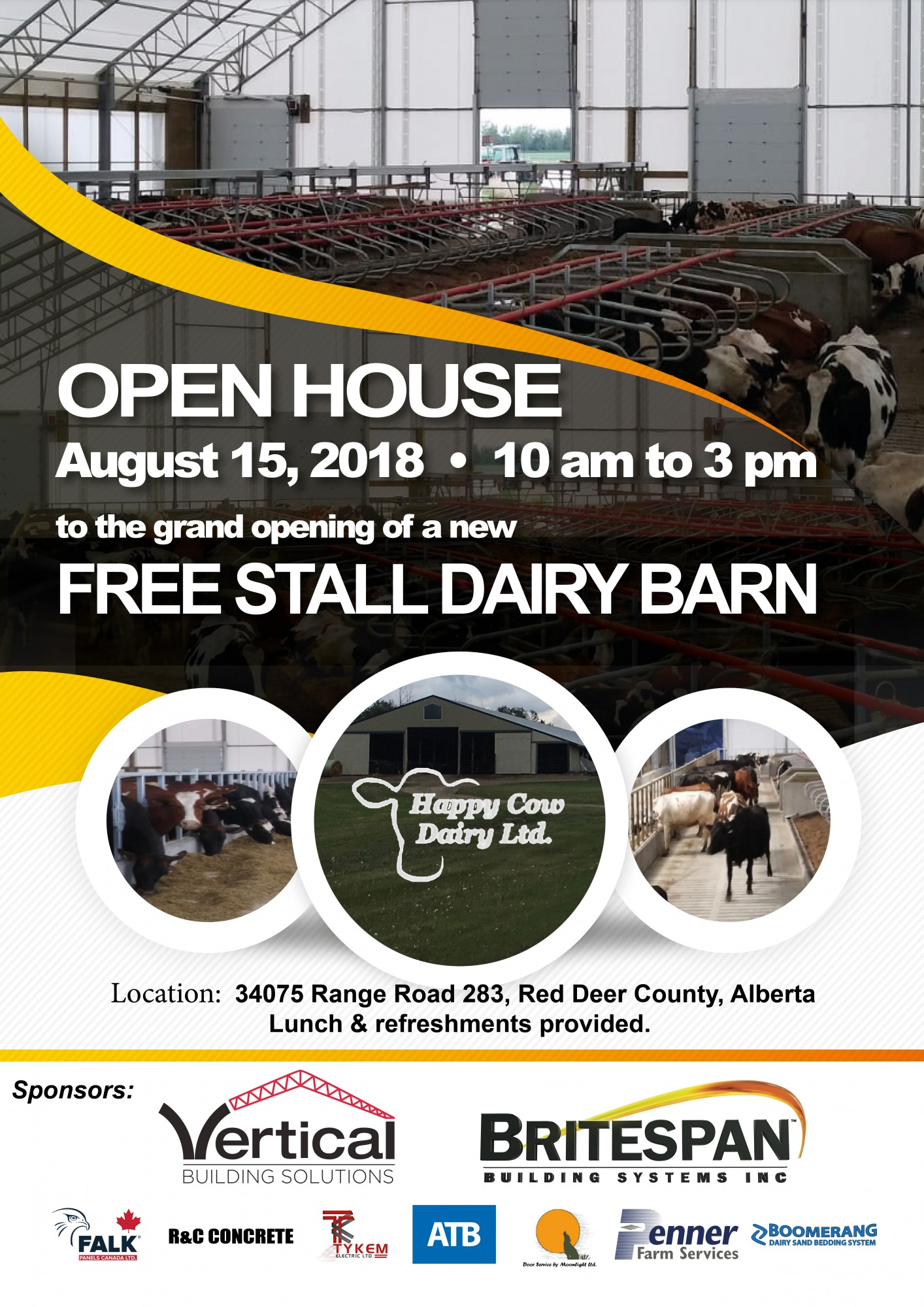 Open House - August 15th